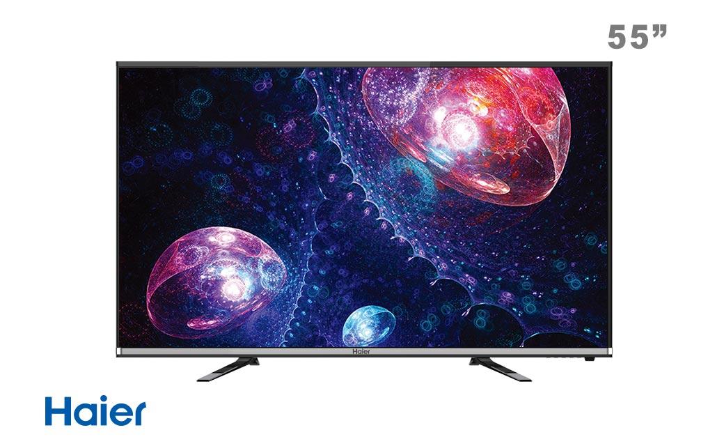 تلویزیون ال ای دی 55 اینچ هوشمند هایر