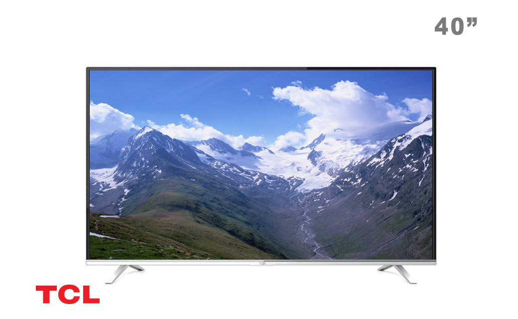 تلویزیون  ال ای دی 40 اینچ  4K تی سی ال